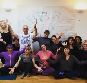 Group photo of our Module 1 Yoga Therapy Training Course London